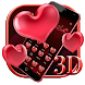 3D Valentine's Day Love Heart Theme
