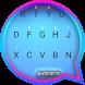 Tech Blue Theme&Emoji Keyboard by Emoji GIF Maker Fans