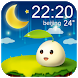 Cute Daily Current Weather by Weather Widget Theme Dev Team