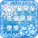 Frozen Ice Keyboard Theme by Creative Theme Designer