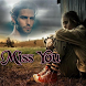 Miss You Photo Frame by bubbles app