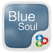 Blue Soul GO Launcher Theme by Freedom Design