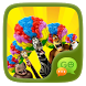 FREE-GOSMS MADAGASCAR STICKER by We Themes
