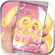 Bear love pink kawaii by BeautifyStudio