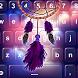 Purple Dream Catcher Keyboard Theme by Sweet Princess Games