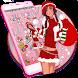 Christmas Girl santa Theme by HD Themes and Wallpaper