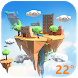 3D Real-time Weather of Island by Weather Widget Theme Dev Team