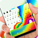 Colorful Background Keyboard Theme for Oppo R11 by Gummi Sour Hearts Studio