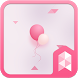 Sweet Pink Launcher theme by SK techx for themes