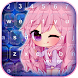Anime Theme Keyboard by Pink Girly Apps