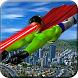 Eye Laser Superhero: Strange Flying Action Hero by crushiz