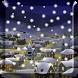 Snow Night City wallpaper PRO by live wallpaper HongKong