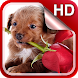 Puppies Live Wallpaper HD by Dream World HD Live Wallpapers