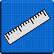 Ruler Blueprint - Cm & Inches by After Breakdown Games