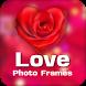 Valentine Day Frame-Love Frame by kenry studio