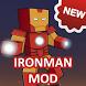 Mod Iron Man for MCPE by Tarkala Mods