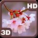 Rain Drizzles Cherry Branch by PiedLove.com Personalization