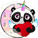Kawaii Unicorn Panda keyboard Theme by HD Theme launcher Creator