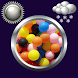 Balloon Weather Clock Widget by Compass Clock and Weather
