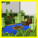Find the hidden button. Map for Minecraft by Ambarret