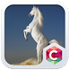 White Horse Theme C Launcher by Baj Launcher Team