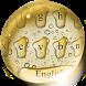 Golden Drops Keyboard by Ajit Tikone