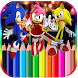 Coloring for Sonic game by menarapps