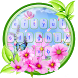 Green Nature Keyboard Theme by cool wallpaper