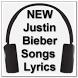 NEW Justin Bieber Song Lyrics by zyan_app