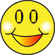 Miley the talking smiley face by Aroha