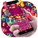 Colorful Neon Butterfly Keyboard by Rainbow Internet Technology