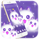 Cute Fluffy Kitten Kawaii Cat Theme by The Best Android Themes