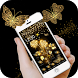 Rose Golden Butterfly Theme by Luxury Free Tema