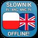 Słownik Polsko - Angielski by Topmobile