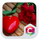 Heart and Rose Theme CLauncher by Baj Launcher Team