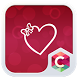 Valentine 's Love Heart Theme by C Launcher Themes