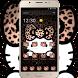 Yellow Leopard Kitty Diamond Themes by Christina_Liang