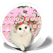 Pink Cute Kitty Cat Keyboard