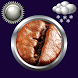 Coffee Clock & Weather Widget by Compass Clock and Weather