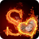 Fire Alphabet Photo Frames by iKrish Labs