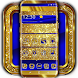 Cobalt and Gold Launcher Theme by Mobile Premium Themes
