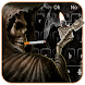 Smoking Skull Lighter Keyboard by The Best Android Themes