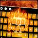 Flaming Skull Typewriter by Keyboard Creative Park