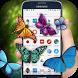 Butterfly on Screen lovely joke by Mobiz Apps