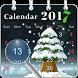 Calendar 2017 by The World of Digital Clocks