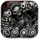 Hell Devil Death Skull Theme by The Best Android Themes