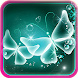Neon Butterfly Live Wallpaper by Wallpapers and Backgrounds Live