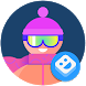 AR Stickers: Winter Sports by Developed with Google