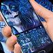 blue sugar skull rose theme keyboard by Cool Theme Creator