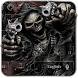 Devil Death Skull Gun Keyboard Theme by The Best Android Themes